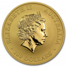 "Золотая монета 100 Dollars ""Кенгуру"" Австралия 2012 год 1oz"