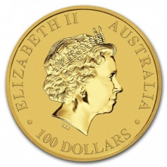 Золотая монета Австралийский кенгуру, Австралия (Australian Gold Kangaroo) 2017 год 31,1 грамм