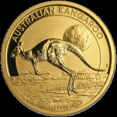 """Золотая монета Австралии """"Кенгуру"""", Австралия Australian Gold Kangaroo  100 долларов"""