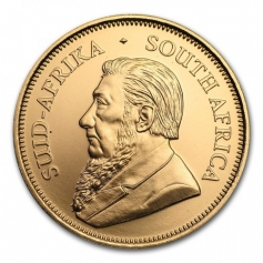 "Золотая инвестиционная монета ЮАР ""Юбилейный Крюгерранд"" Krugerrand gold 31,1 грамм 1oz"