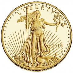 "Золотая монета ""Американский Орел"" American Gold Eagle, 50 долларов"