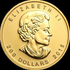 """Золотая монета """"Рычание пумы"""", 200 долларов"""